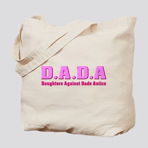 Daughters Against Dads Antics Tote Bag