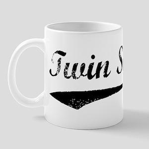 Vintage (Black) Twin Sister Mug