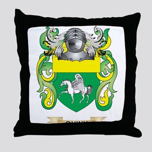 Quinn Coat of Arms (Family Crest) Throw Pillow