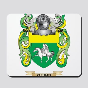 Quinn Coat of Arms (Family Crest) Mousepad