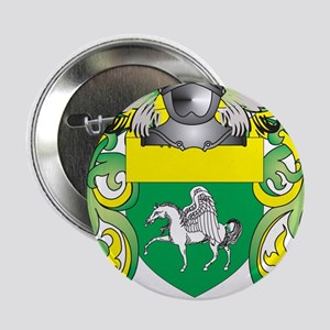 """Quinn Coat of Arms (Family Crest) 2.25"""" Button"""