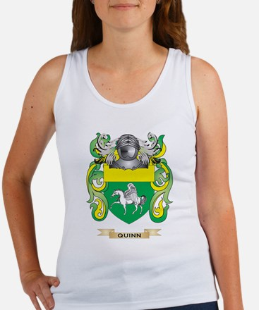 Quinn Coat of Arms (Family Crest) Tank Top