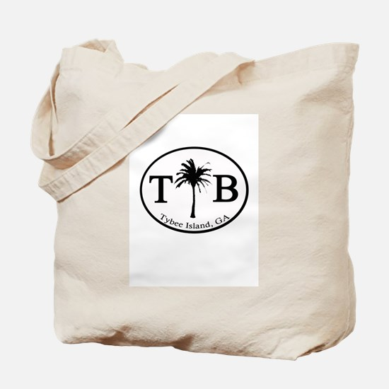 Tybee Island, Georgia Tote Bag / Beach Bag