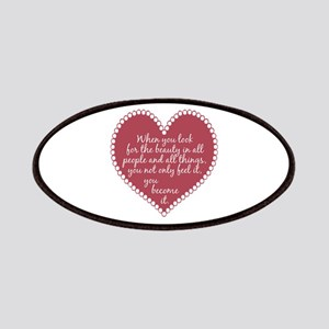 Inspirational Beauty Quote Patches