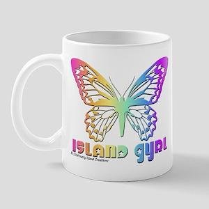Butterfly Island Gyrl Mug