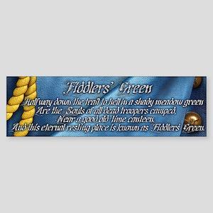 Harvest Moons Fiddlers' Green Bumper Sticker