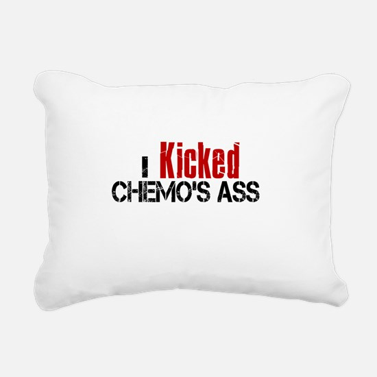 I Kicked Chemo's Ass Rectangular Canvas Pillow