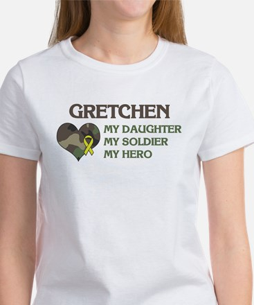 Gretchen: My Hero Women's T-Shirt