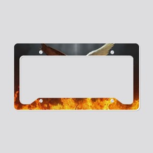 Angel and demon License Plate Holder