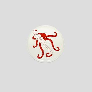 Octopus Diver Mini Button