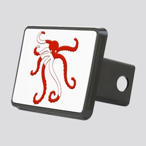 Octopus Diver Rectangular Hitch Cover