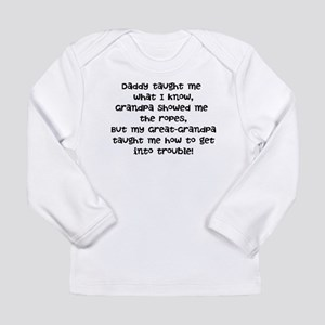 Great-Grandpa Trouble Long Sleeve T-Shirt
