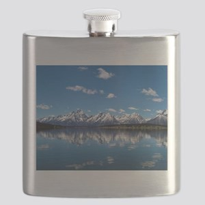 GRAND TETON - JACKSON LAKE Flask