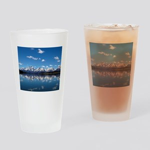 GRAND TETON - JACKSON LAKE Drinking Glass
