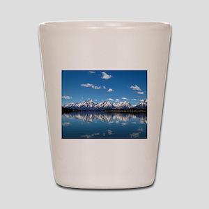 GRAND TETON - JACKSON LAKE Shot Glass