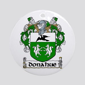 Donahue Coat of Arms Ornament (Round)