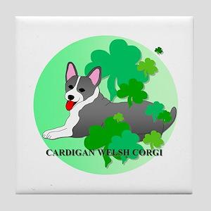 Cardigan Welsh Corgi Tile Coaster