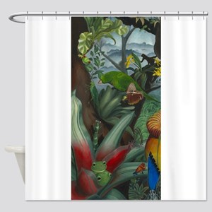 Cloud Forest Painting Shower Curtain
