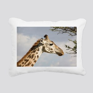 Giraffe Rectangular Canvas Pillow