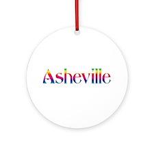 Asheville Ornament (Round)
