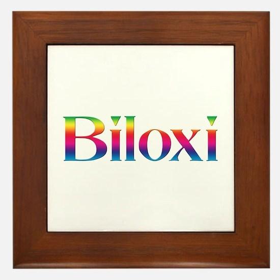 Biloxi Framed Tile