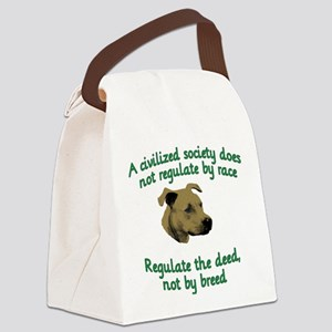 Civilized Society Canvas Lunch Bag