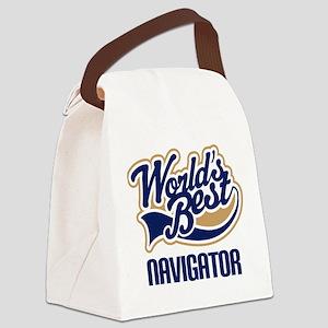 Navigator (Worlds Best) Canvas Lunch Bag