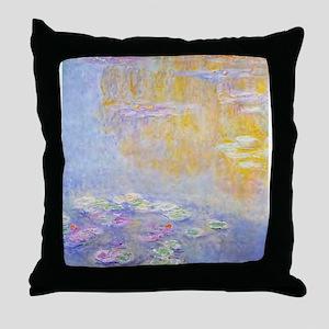 Monet Water Lilies 7 Throw Pillow
