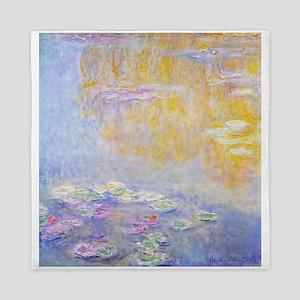 Monet Water Lilies 7 Queen Duvet