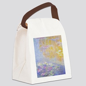 Monet Water Lilies 7 Canvas Lunch Bag