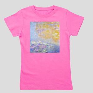 Monet Water Lilies 7 Girl's Tee