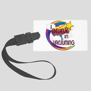 I Believe In Vacuuming Cute Believer Design Large