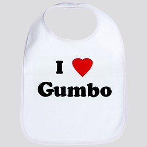 I Love Gumbo Bib