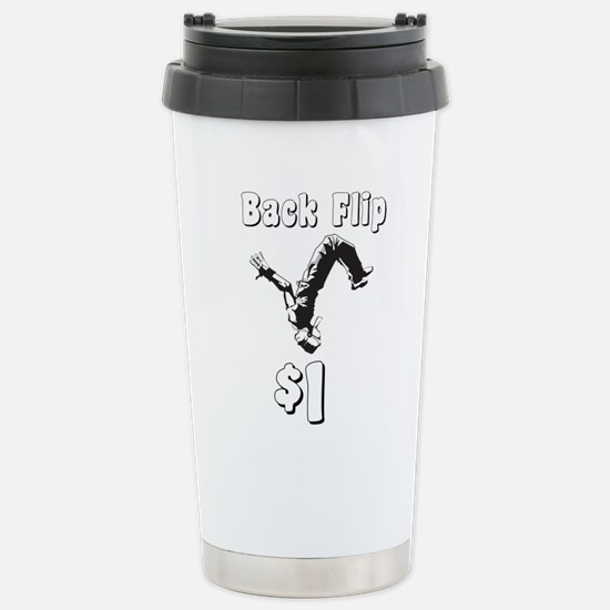 Back Flip Travel Mug