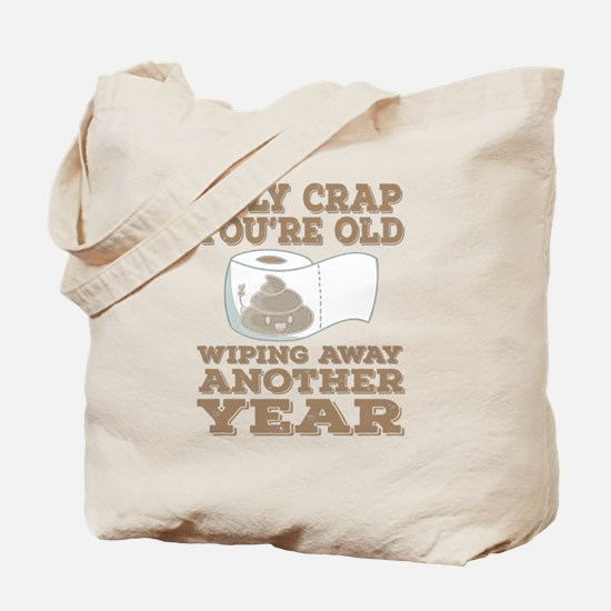 Cute 75 birthday holy crap Tote Bag