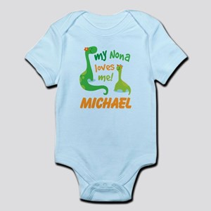 My Nona Loves Me Personalized Body Suit