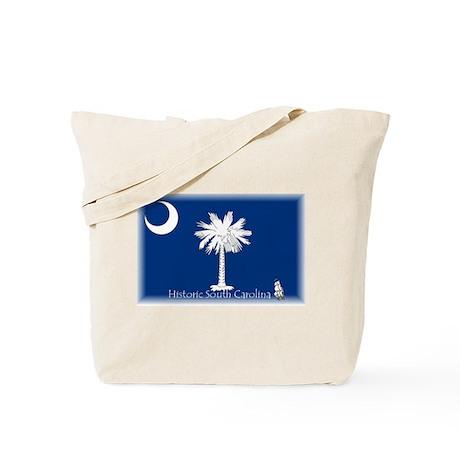 Historic South Carolina Tote Bag