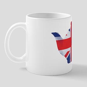 Union Jack Flag Teapot Art Mug