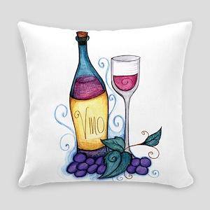 Wine Lover's Vino Everyday Pillow