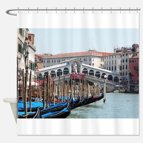 Unique Italy Shower Curtain