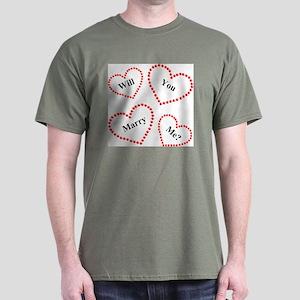 Love & Hearts Dark T-Shirt