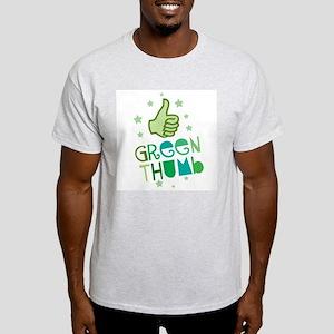 Green Thumb Ash Grey T-Shirt