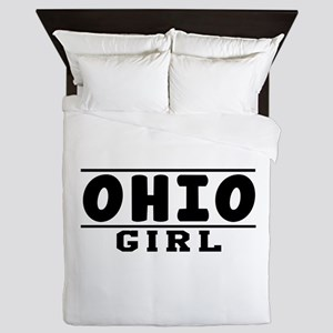 Ohio Girl Designs Queen Duvet