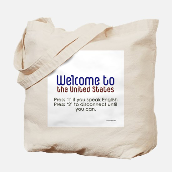 WelcomeUS Tote Bag