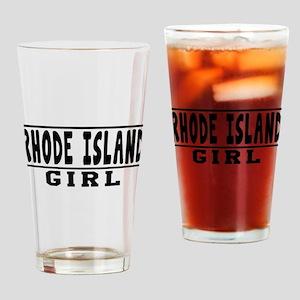 Rhode Island Girl Designs Drinking Glass