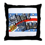 We Will Win Victory Throw Pillow