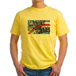 We Will Win Victory (Front) Yellow T-Shirt