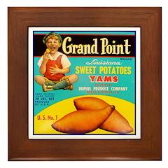Grand Point Brand Framed Tile