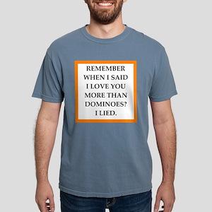 dominoes Mens Comfort Colors Shirt