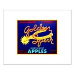 Golden Spur Brand Small Poster